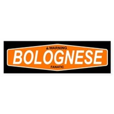 BOLOGNESE Bumper Car Sticker