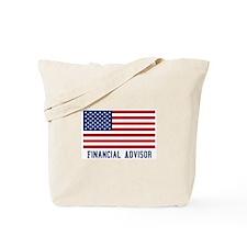 Ameircan Financial Advisor Tote Bag