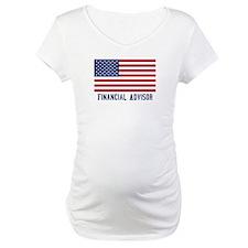 Ameircan Financial Advisor Shirt