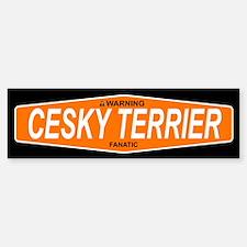 CESKY TERRIER Bumper Bumper Bumper Sticker