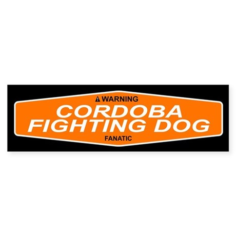 CORDOBA FIGHTING DOG Bumper Sticker
