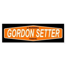 GORDON SETTER Bumper Bumper Sticker