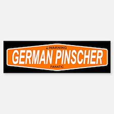 GERMAN PINSCHER Bumper Bumper Bumper Sticker