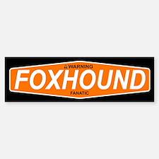 FOXHOUND Bumper Bumper Bumper Sticker