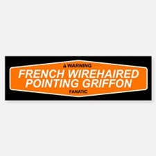 FRENCH WIREHAIRED POINTING GRIFFON Bumper Bumper Sticker