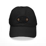 Bouvier Grandma Oval Black Cap