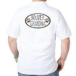 Bouvier Grandma Oval Golf Shirt