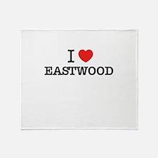 I Love EASTWOOD Throw Blanket