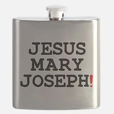 JESUS MARY JOSEPH! Flask