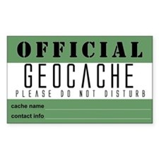 Cache Rectangle Decal