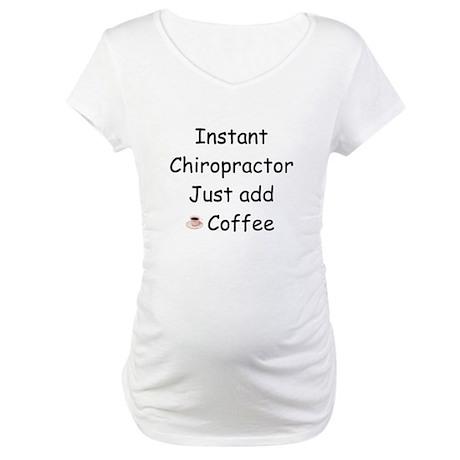 Chiropractor Maternity T-Shirt