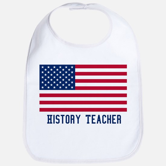 Ameircan History Teacher Bib