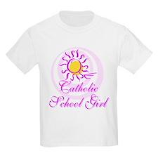 Catholic School Girl Kids T-Shirt