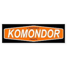 KOMONDOR Bumper Bumper Sticker