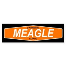 MEAGLE Bumper Bumper Sticker