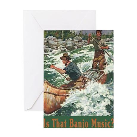 IsThat Banjo Music? Greeting Card