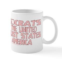 Pinkocrats Anti-Liberal Mug
