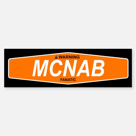 MCNAB Bumper Bumper Bumper Sticker