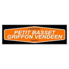 PETIT BASSET GRIFFON VENDEEN Bumper Bumper Sticker
