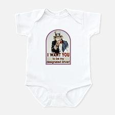 Designated Driver Infant Bodysuit