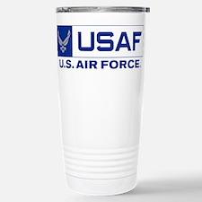 U.S. Air Force Seal USA Travel Mug