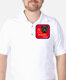 My Country Includes Pit Bulls Golf Shirt