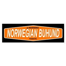 NORWEGIAN BUHUND Bumper Bumper Sticker