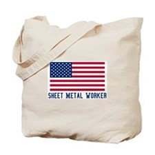 Ameircan Sheet Metal Worker Tote Bag