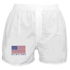 Ameircan Sheet Metal Worker Boxer Shorts