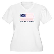 Ameircan Sheet Metal Worker T-Shirt