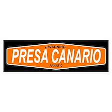 PRESA CANARIO Bumper Bumper Sticker