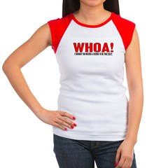 Whoa You're Ugly Women's Cap Sleeve T-Shirt