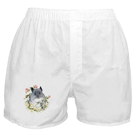 Chin with Rose Boxer Shorts