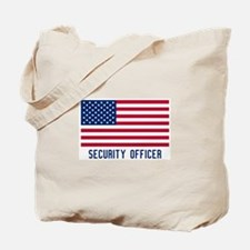 Ameircan Security Officer Tote Bag