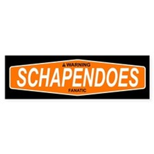SCHAPENDOES Bumper Bumper Sticker