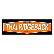 THAI RIDGEBACK Bumper Bumper Sticker