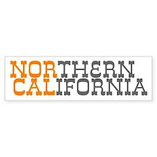 NORTHERN CALIFORNIA Bumper Bumper Sticker