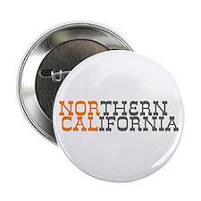 "NORTHERN CALIFORNIA 2.25"" Button"