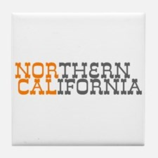 NORTHERN CALIFORNIA Tile Coaster