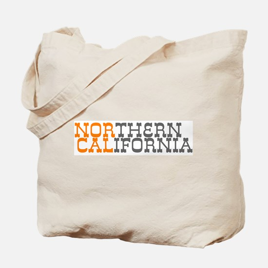 NORTHERN CALIFORNIA Tote Bag