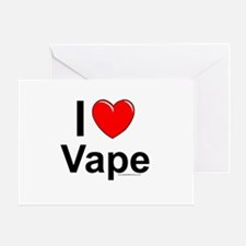 Vape Greeting Card