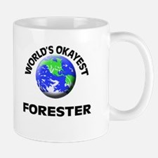 World's Okayest Forester Mugs