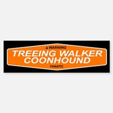 TREEING WALKER COONHOUND Bumper Bumper Bumper Sticker