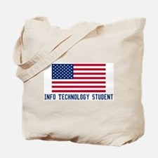 Ameircan Info Technology Stud Tote Bag
