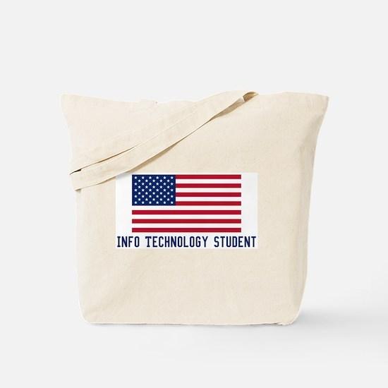 Ameircan Info Technology Stud Tote Bag