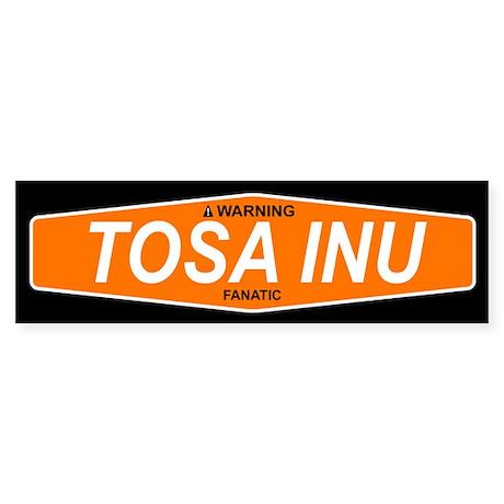TOSA INU Bumper Sticker