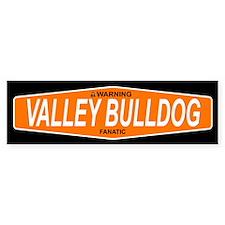 VALLEY BULLDOG Bumper Bumper Sticker
