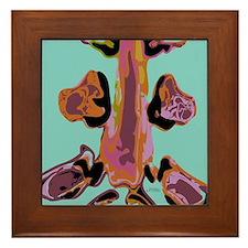 Colored Spine Framed Tile