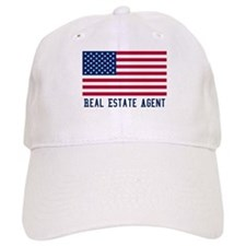 Ameircan Real Estate Agent Baseball Cap