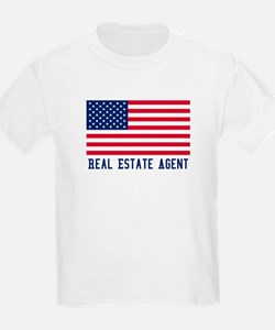 Ameircan Real Estate Agent T-Shirt